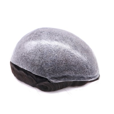 Ultra Thin Skin Men's Toupee 04-5mil Thickness